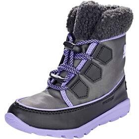 Sorel Whitney Carnival Bottes Enfant, dark grey/paisley purple